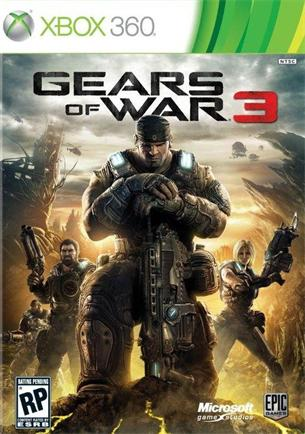 XBOX 360 hra - Gears of War 3