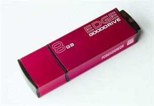 USB Drive 8GB GOODDRIVE EDGE Red