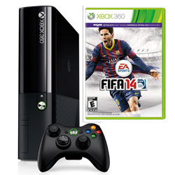 XBOX 360 250GB (novy design) + FIFA 14