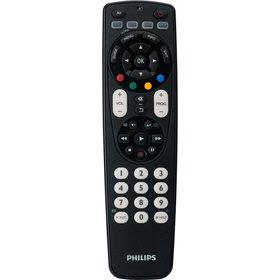Philips Univerzálny diaľkový ovládač 4 v 1, vysiela IR s dosahom 10 m, podsvietené tl.