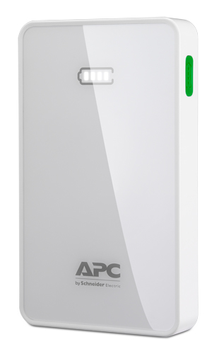 APC Mobile Power Pack, 10000mAh Li-polymer, White ( EMEA/CIS/MEA) M10WH-EC