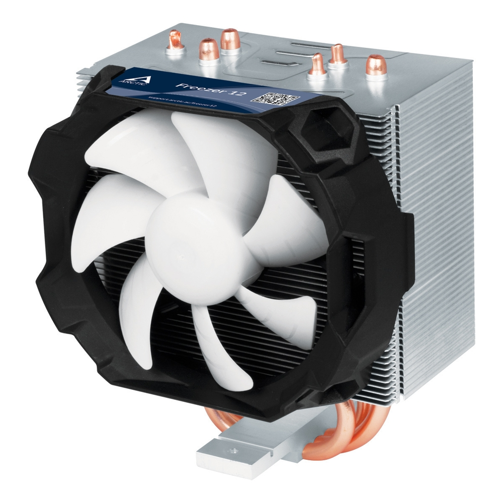 ARCTIC Freezer 12, CPU Cooler for Intel socket 2011(-v3)/1150/1151/1155/1156 & AMD socket AM4, direct touch ACFRE00027A