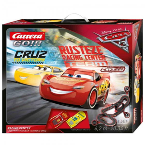 Autodráha Carrera GO 62417 Cars 3 - Racing Center GCG1184