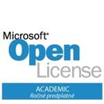 Azure Active Directory Basic Open - OLP NL AnnualAcademic Fclty Qlfd