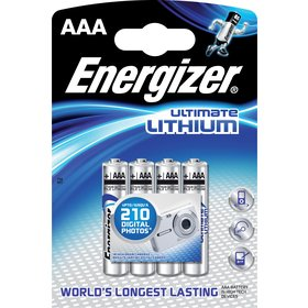 BAT ULTIMATE LITH FR03/4 4xAAA ENERGIZER 1ks