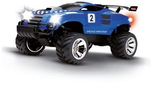 CQE Carrera R/C auto Racing Machine blue GCC1005