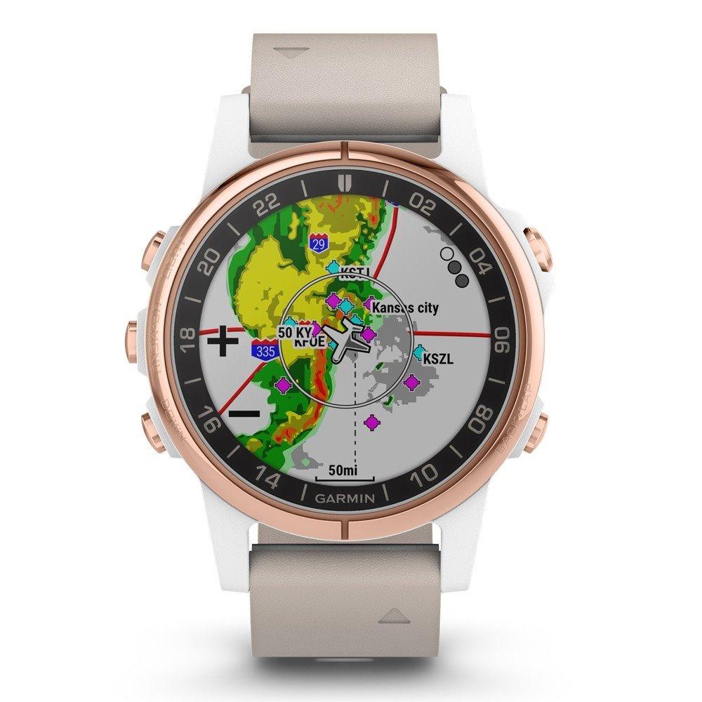 675dd141c GARMIN GPS chytré hodinky pro piloty D2 Delta S 010-01987-31 ...