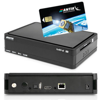 c58f18167 ANTIK Sat. prijímač MINI 2S DVB-S2 + Antik Karta MINI2S+KARTA ...