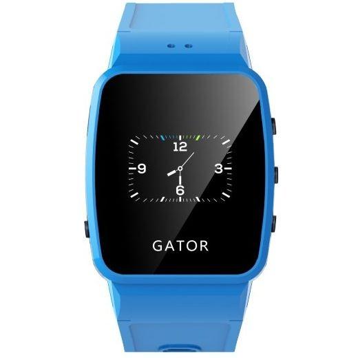 Detské hodinky s GPS GATOR II - modré  b43b7e41b3a