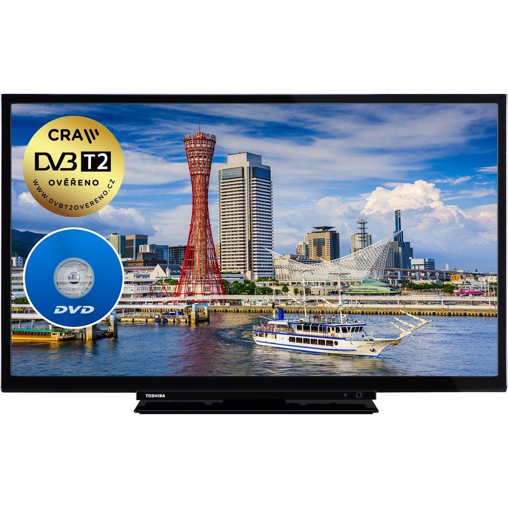 1a0cb640a Televízor Toshiba 24DM763DG MOBILE TV+DVD T2/C/S2 (61 cm) HD ready ...