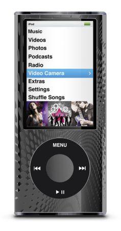 iLuv Číry obal pre iPod Nano - hliníkový kryt - čierna iCC308blk ... 151a6031776