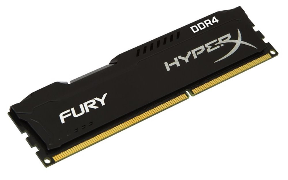 KINGSTON HyperX FURY 16GB DDR4 3200MHz / DIMM / CL18 / černá HX432C18FB/16