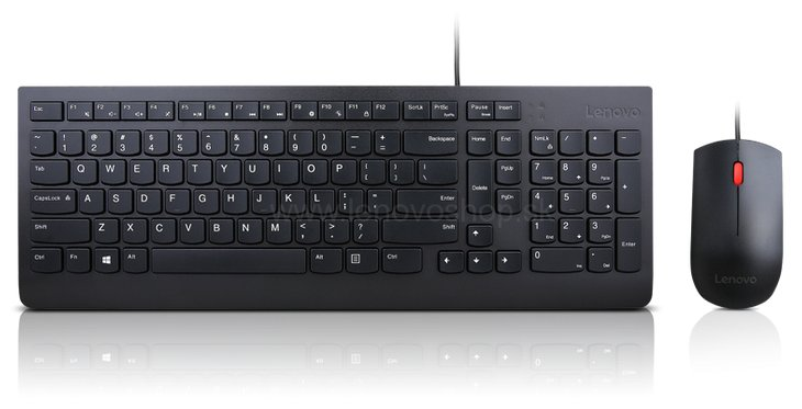 Lenovo Essential Wired Keyboard and Mouse Combo - klavesnica slovenska 4X30L79914