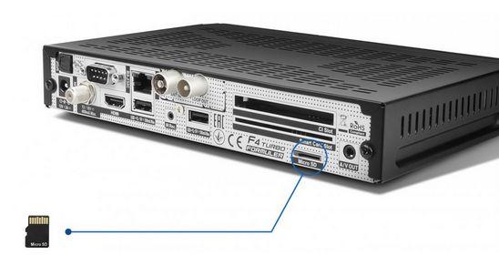 a5a9c9a04 Satelitný prijímač FORMULER F4 TURBO Combo HEVC H.265, DVB-S/S2/T/T2 ...