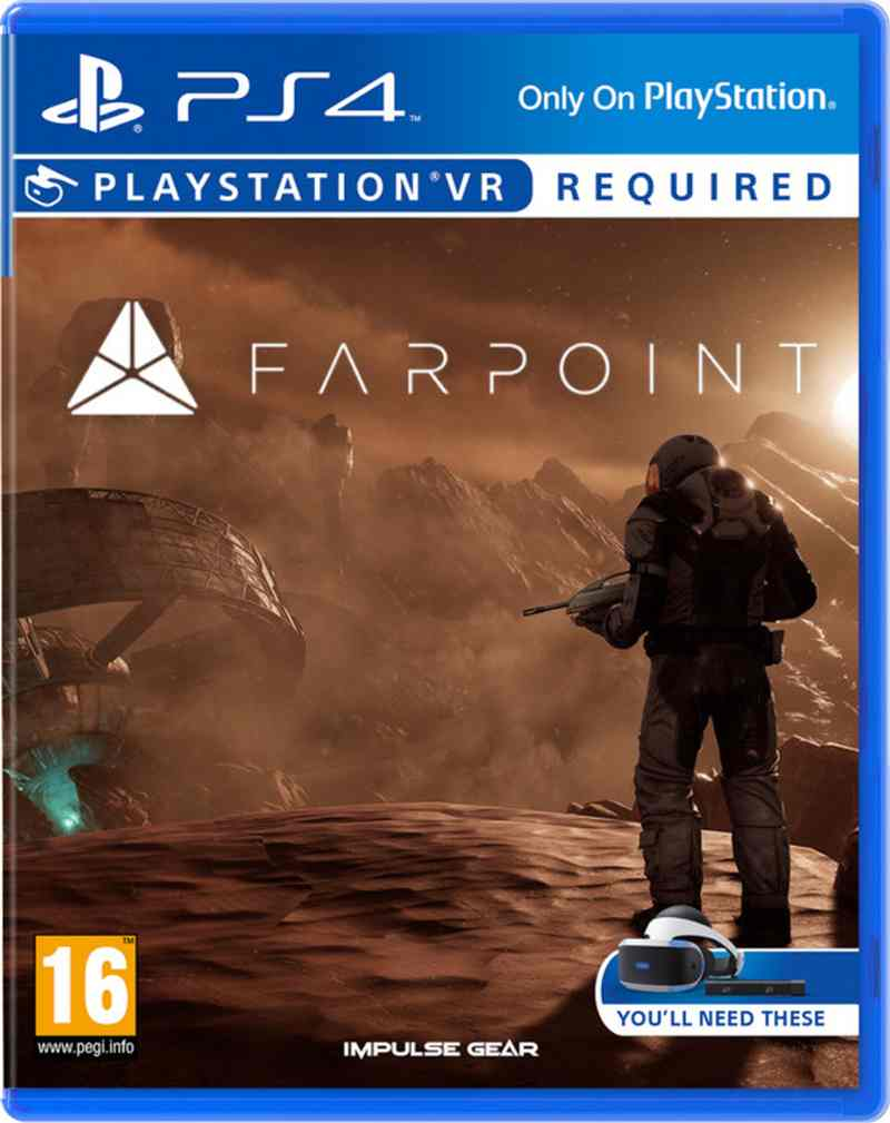 SONY PS4 hra Farpoint VR PS719848554